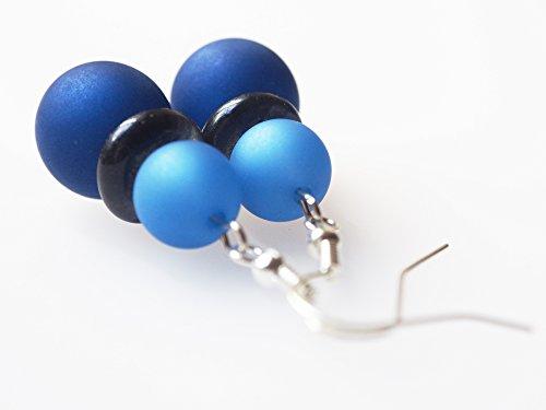 Ohrringe dunkelblau capri Polarisohrringe