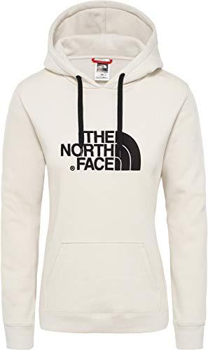 The North Face, Drew Peak, Felpa Con Cappuccio Donna, Rosso, M, Rosso Nova, M