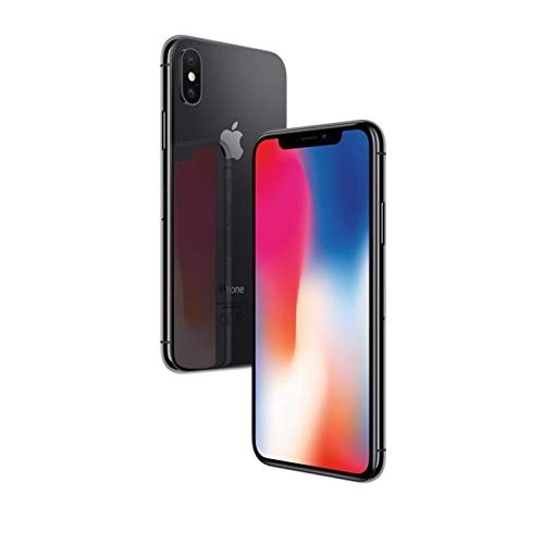 Apple iPhone X 64GB - Space Grau - Entriegelte (Generalüberholt)