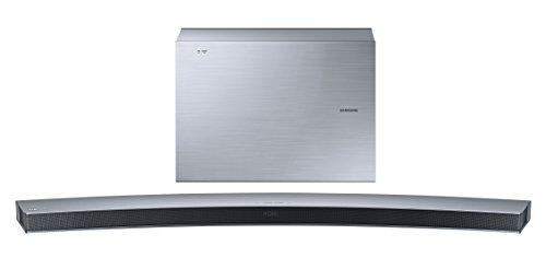 Samsung HW-J6001 Curved 6.1 Soundbar (300W, kabelloser Subwoofer, Bluetooth) silber
