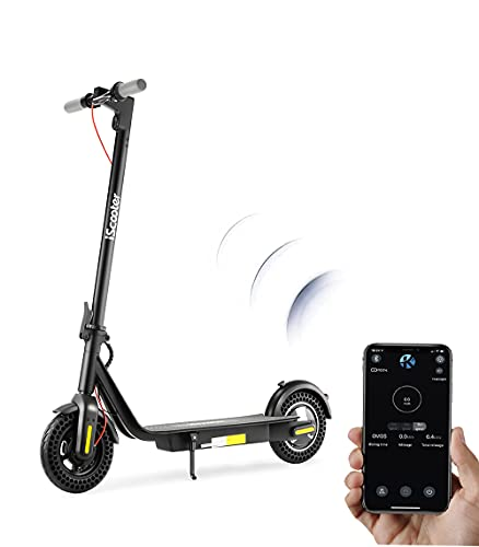 Adults Electric Scooters i10,22 Miles Long Range,30km/h Speed,10'' Tire...