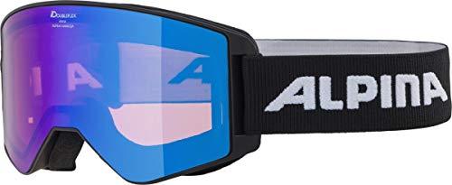 ALPINA Narkoja HM Snowboardbrille Skibrille Black HM Blue