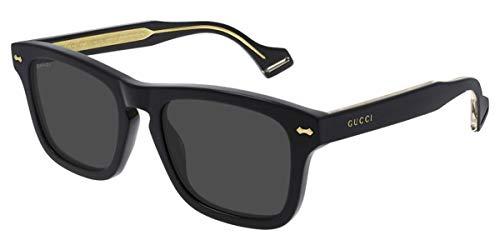 Gucci Occhiali da Sole GG0735S BLACK/GREY 53/20/145 uomo
