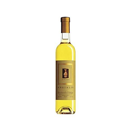 3 bt x 0.50 - Angialis, Vino bianco sardo da uve stramature, prodotto dalla storica cantina di Argiolas, Serdiana
