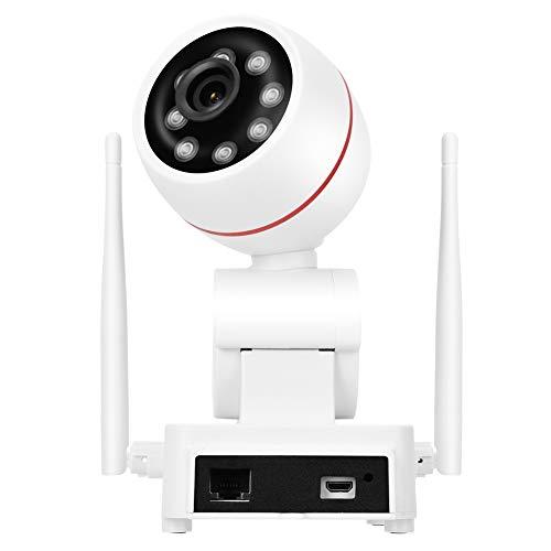 DAUERHAFT Cámara de Monitor de Seguridad Impermeable ABS con Antenas Dobles Cámara de Monitor PTZ 1080P con Antenas Dobles para Uso en Exteriores(100V-240V U.S. regulations)