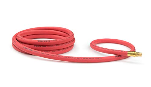 TEKTON 46334 3/8-Inch I.D. by 10-Foot 250 PSI Rubber Lead-In Air Hose