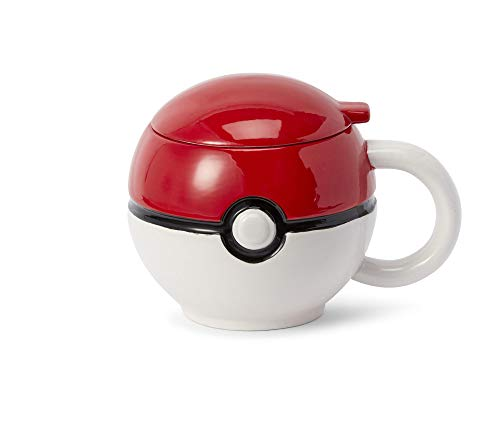 Pokemon Pokeball Mug with Lid