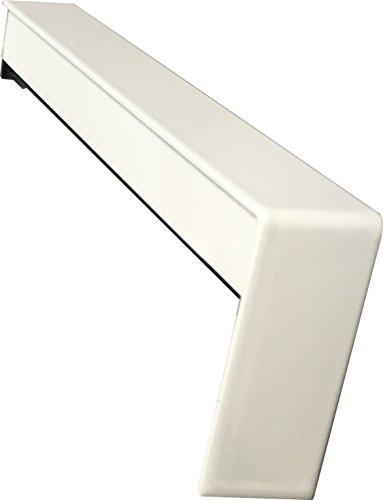 Fensterbank Gleitabschlüsse 260 mm in Weiß