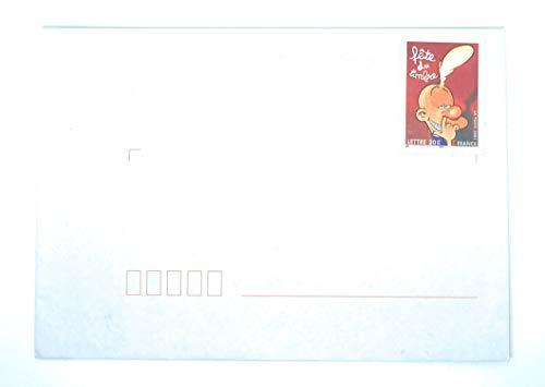 Lot de 3 enveloppes timbrées autoadhésives de 114 x 162 mm pour Un Envoi pour la France jusqua 20g. Bande dessinée comme sur la Photo