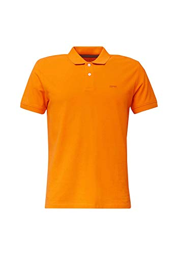 Esprit 020EE2K303 Polohemd, Herren, Orange L