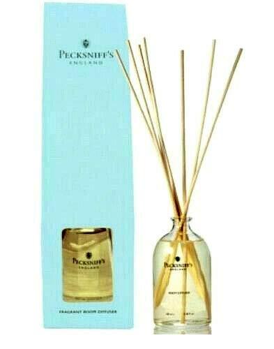 Pecksniffs England Sandalwood & Vanilla Fragrant Room Diffuser 3.3 Fl.Oz. From England