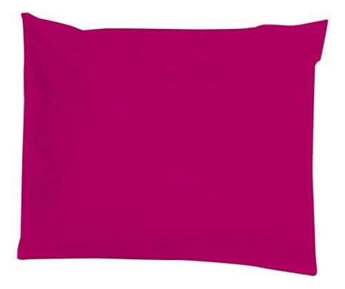 Taie d'oreiller imperméable et anti-acariens 60x60cm Berry Pink - Louis Le Sec