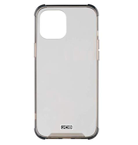 JCB Toughcase iPhone 12 6.1' Carcasa Protectora a Prueba de Golpes para Teléfono Móvil, Transparente Y Ahumado