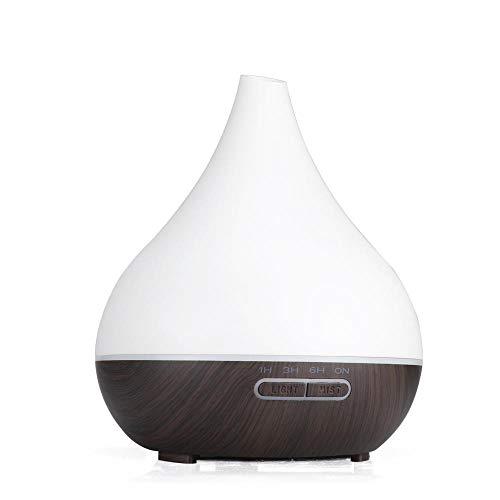 N-A Humidificador Tip-Mouth Jarrón purificador de aire máquina aromaterapia regalo humidificador profundo base de madera