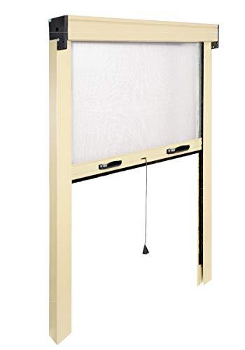 I.R.S. Insektenschutz Slim VERTIKAL Rollo Feder. Aluminium lackiert. Reduzierbare von 20–25cm bis.