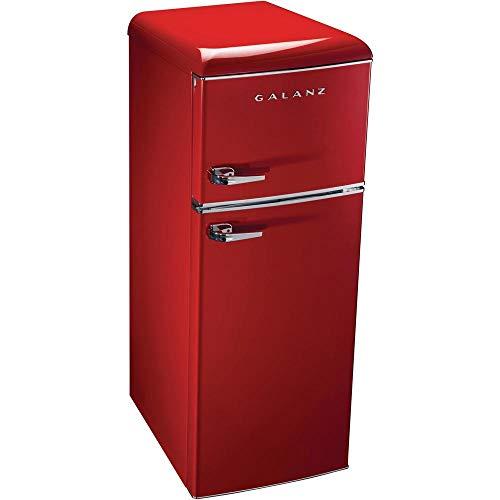 Galanz 7.6 cu. ft. Mini Refrigerator in Red