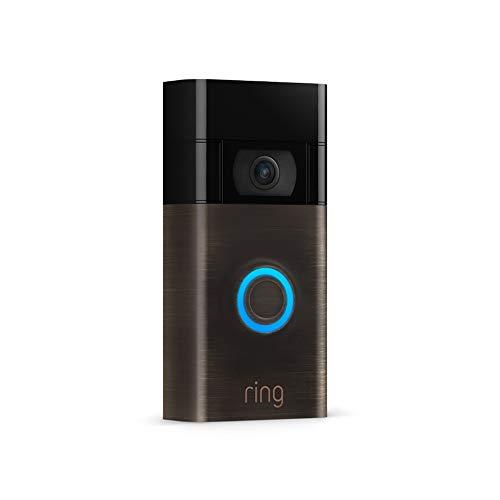 Die neue Ring Video Doorbell von Amazon | 1080p HD-Video, fortschrittliche Bewegungserfassung und einfache Installation (2. Gen.) | Mit 30-tägigem Testzeitraum für Ring Protect