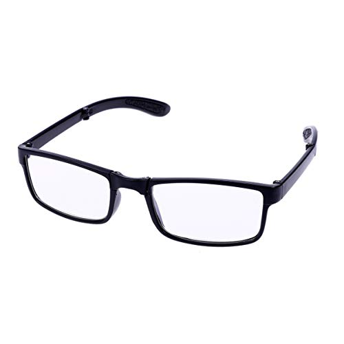 Supvox Gafas de Presbicia Plegables de 200 Grados Gafas de Lectura Gafas de Lectura Plegables de Bolsillo para Ancianos Gafas de Presbicia para Hombres Mujeres Personas Mayores
