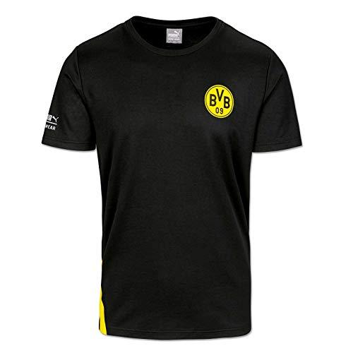 PUMA WORK WEAR BVB Edition Premium Arbeitsshirt aus robustem Gewebe - Gr. XL