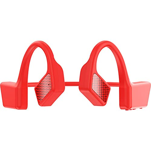 Auriculares deportivos, Auriculares de conducción ósea con ruido de micrófono Bluetooth, Auriculares inalámbricos de oreja abierta TWS Auriculares impermeables de manos libres para correr Deporte Fi