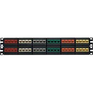 Panduit - 48 numbered port modular patch panel