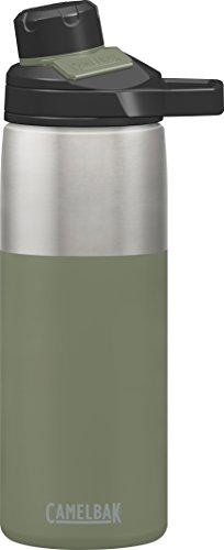 CAMELBAK Erwachsene Chute Mag Vacuum Trinkflasche, Olive, 0.6 Liter