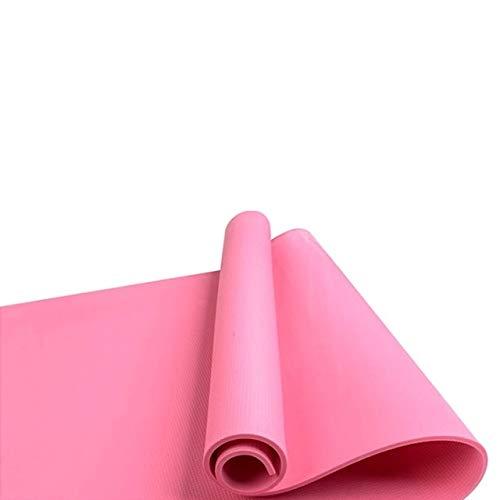 Vloermat warm te koop 4 kleuren dikke yoga oefening mat anti-slip pad fitness Pilates Accessoires soms slip matten schuiven aangewezen oefening matten,roze