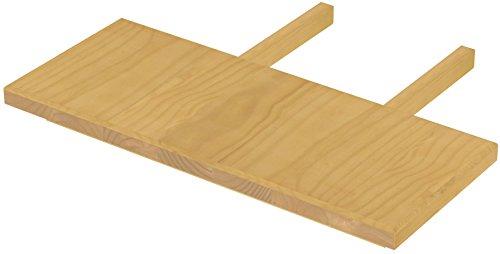 Brasilmöbel blat 30 x 73 dąb jasny Rio Classiko lub Rio Kanto – przedłużenie stołu z pinii z prawdziwego drewna – rozmiar i kolor do wyboru – do stołu do jadalni, stół drewniany, stół rozkładany