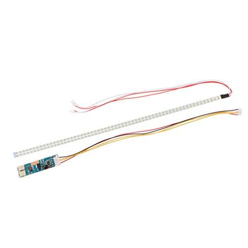 Sharplace 2pcs 355mm Bande de Lampe LED Étanche Flexible Pour Voiture tv