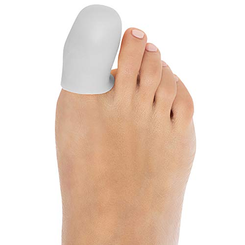 ZenToes 6 Pack Gel Toe Cap and Protector - Cushions to Protect The Toe and Provides Relief from Missing or...