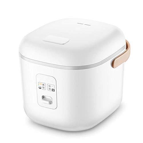 ZXX Elektrische Reiskocher Dampfgarer, Tasse Reiskocher Dampfgarer mit automatischer Warmhaltefunktion, ideal für Suppen, Eintöpfe, Getreide Haferflocken