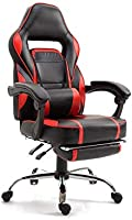 Mahmayi Gaming Chair High Back Computer Chair Chrome Desk Chair PC Racing Executive Ergonomic Adjustable Swivel Task...