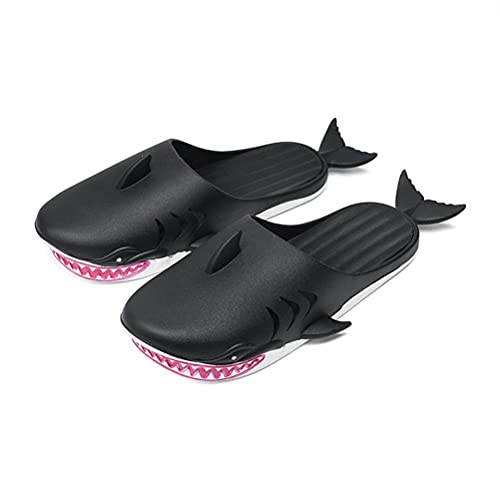 WSTERAO Sandalias Divertidas Zapatillas de tiburón Zapatillas de tiburón Unisex Zapatos Piscina Playa Zapatos de Fiesta Playa al Aire Libre Zapatilla de PVC, Zapatillas de tiburón Divertidas Hombres