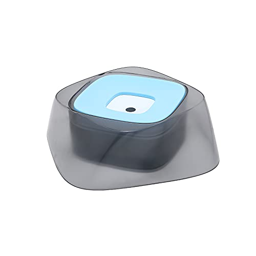UTDKLPBXAQ 1400ml Pet Water Bowl Safe Pet Floating Water Dog Water Container Pet Non-Wetting Mouth Bowl Portable Water Feeder for Kitten and Dog