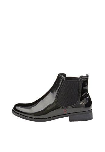 Fritzi aus Preussen Damen Ellie Patent Chelsea Boots, Schwarz (Black 1), 37 EU