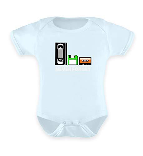Shirtee - Body - Bébé (fille) 0 à 24 mois - Bleu - 12-18 mois