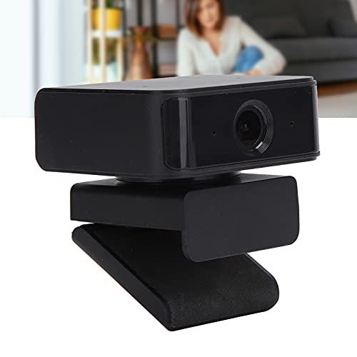 Snufeve6 Cámara con rotación de 360 °, cámara USB de Escritorio para Curso en línea para videoconferencia para Video Chat para transmisión en Vivo