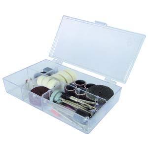 Scheppach 3901402701 Dekupiersäge/Werkzeugset 64-teilig, passendes Zubehör für die Deco-Flex, in Kunststoffbox