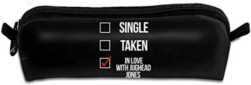 Estuche organizador de estuche delgado para ninos adultos Ninas con cremallera para boligrafos Lapices Solo enamorado de Jughead Jones