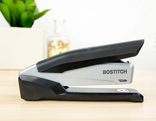 Bostitch Executive Stapler - 3 in 1 Stapler - One Finger, No Effort, Spring Powered Stapler, Black/Gray (INP20), 20 Sheets Photo #2