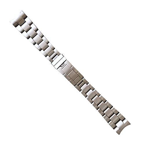 Swiss Time Watches Pulsera de reloj Oyster de repuesto de acero inoxidable de 20 mm para Rolex Submariner