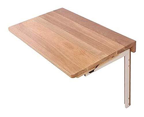 Mesa de centro Mesas laterales plegables Mesas de pared for la sala / oficina de Living / baño Estante de almacenamiento fáciles de instalar de pared pequeña mesa de la cena) Tablas de café pequeñas