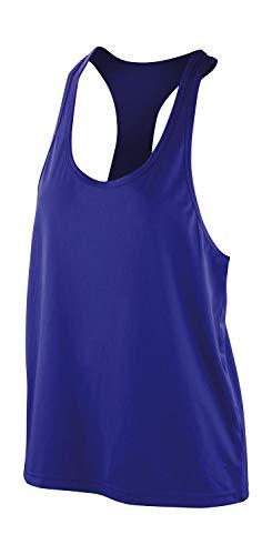 Result Damen Spiro Womens Impact Sport Tank Top, Violett (Saphir), Small