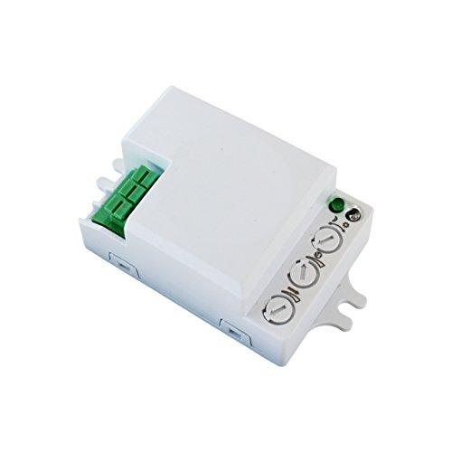 500W Bewegungsmelder Mikrowellen Radar Sensor Schalter Präsenzmelder 360°