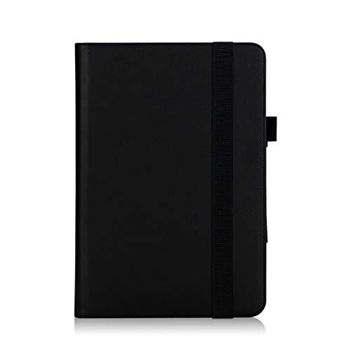 ISIN Premium PU Folio Funda Case Cover Carcasa para ASUS Transformer Mini T103HAF 10,1' 2-en-1 Convertible Tablet PC Laptop(Negro)