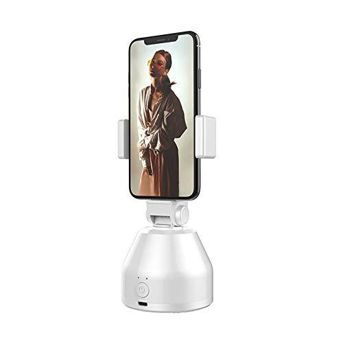 NLYWB Rotation Live Selfie Stick, USB-Aufladung, Gesichtsverfolgung, Horizontal vertikal umschalten, Bilder automatisch aufnehmen, Geeignet für Outdoor usw, 3x6,3 Zoll