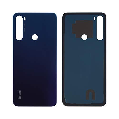 swark Tapa trasera compatible con Xiaomi Redmi Note 8 M1908C3JH, M1908C3JG, M1908C3JI (Neptune Blue) Tapa de batería