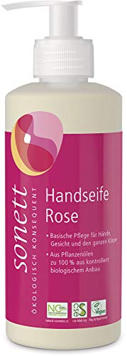 Sonett Bio Handseife Rose (6 x 300 ml)