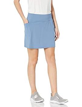 Skechers womens Go Walk Go Flex With Pockets Skort Blue Gray 3X-Large US
