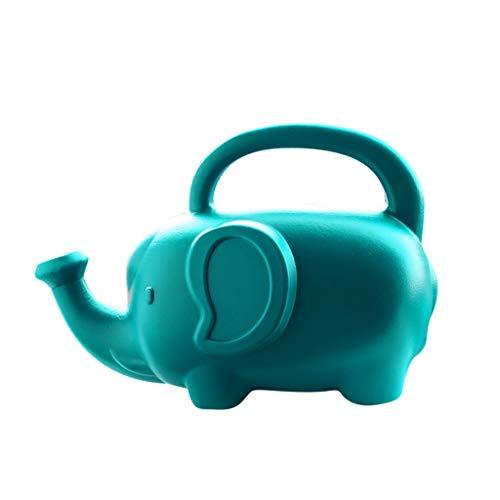 Yamart Cartoon Elephant Shaped Watering Can, Novelty Indoor Garden PlantWatering Pot Can Sprinklers for Indoor Seedlings